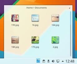 Folderview im Panel aufgewertet