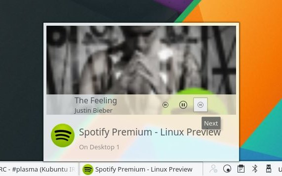 Media Player Tooltips