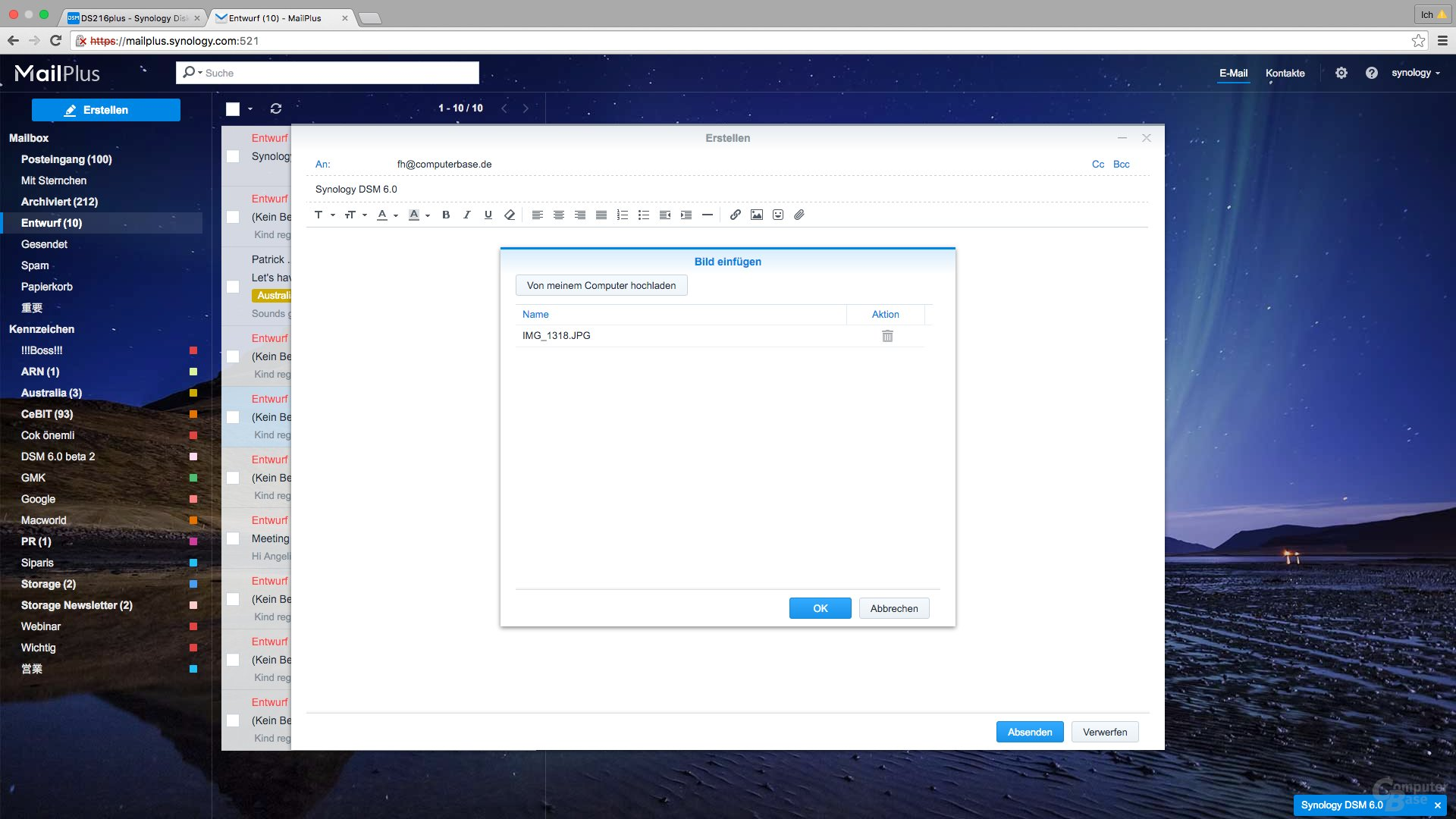 Synology DSM 6.0: MailPlus