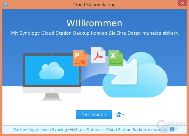 Synology Cloud Station Backup