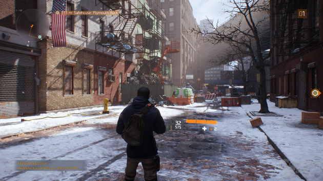 The Division – Nvidia HRFT