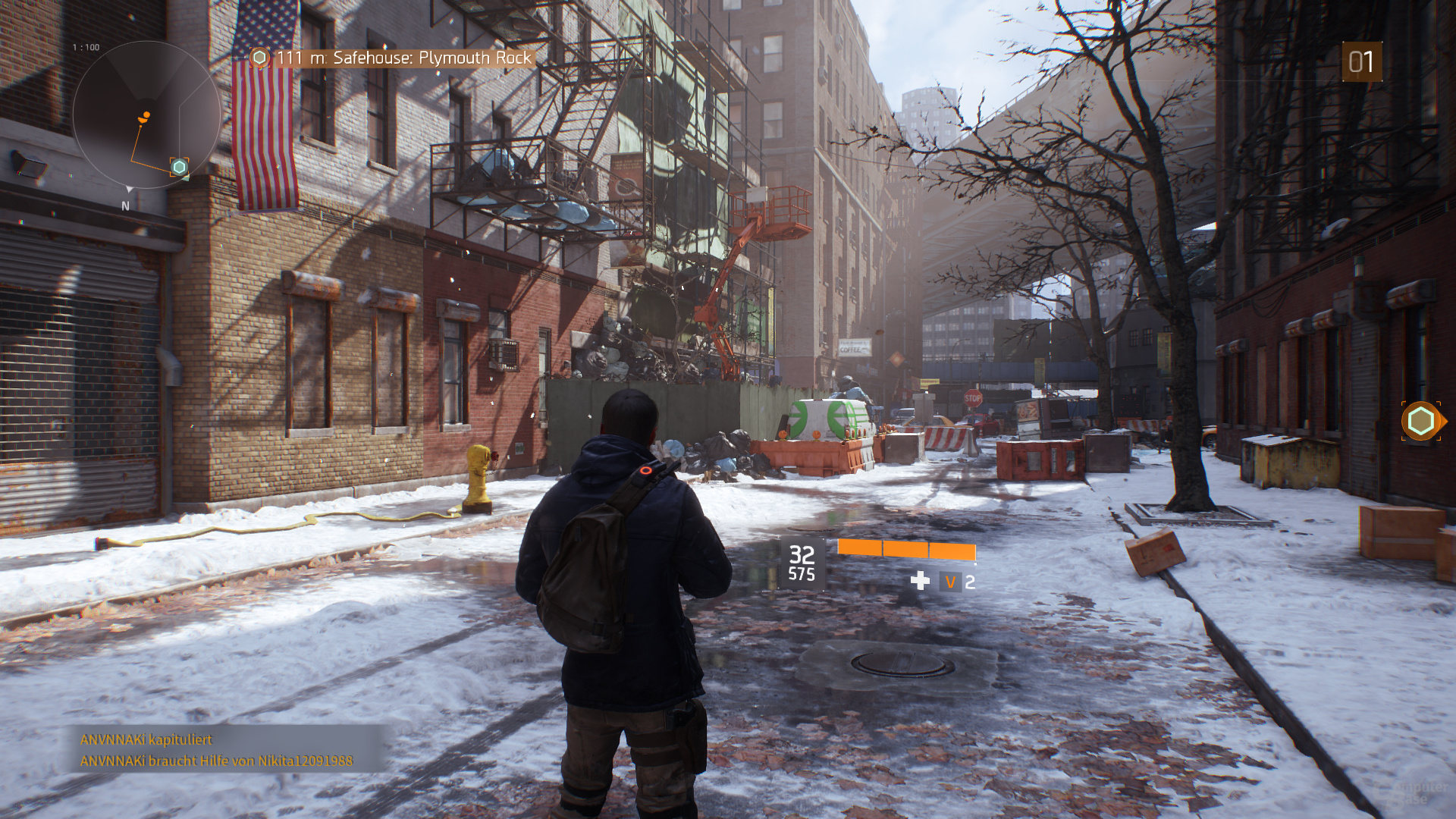 The Division – Nvidia PCSS
