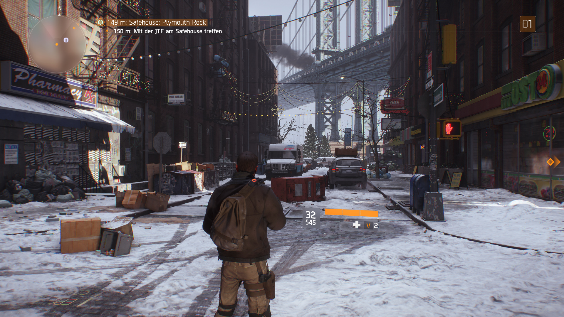 The Division – Hoch-Preset