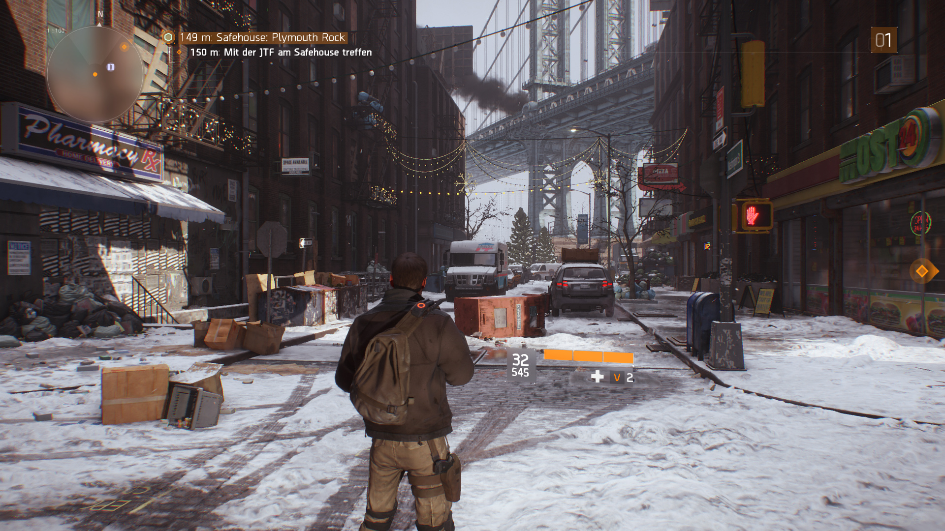 The Division – Maximale Details
