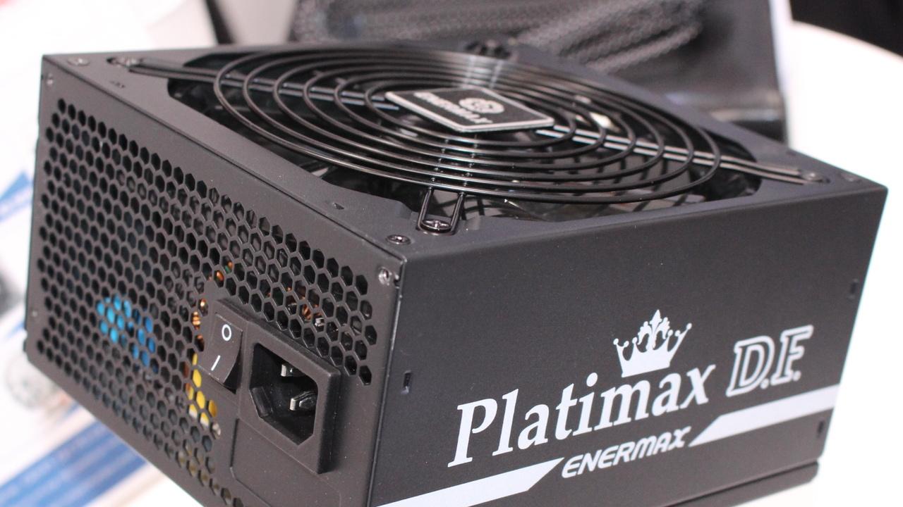 Platimax D.F.: Enermax zeigt Luxus-Netzteile für staubfreie PCs