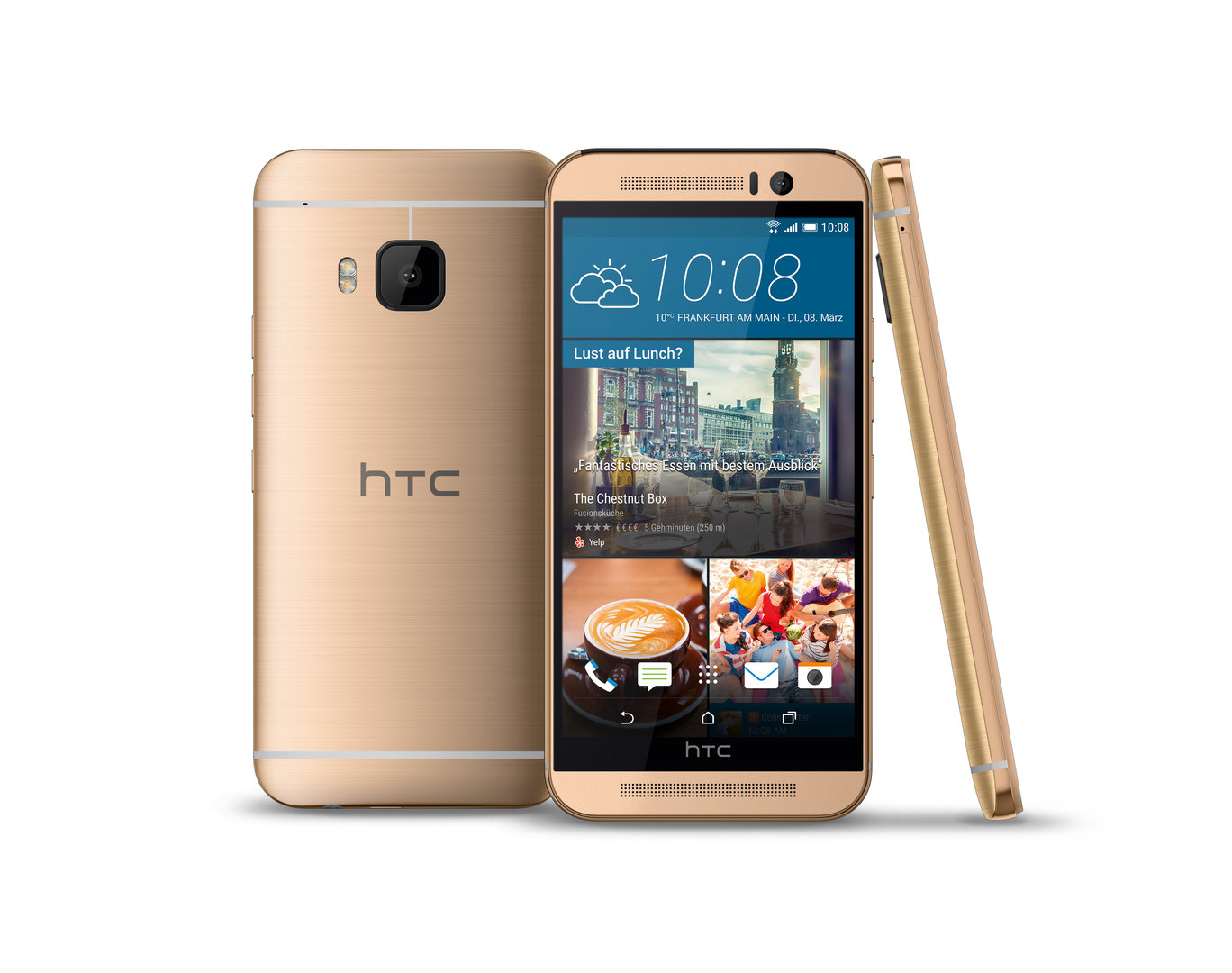 HTC One M9 Prime Camera Edition – Gold on Gold