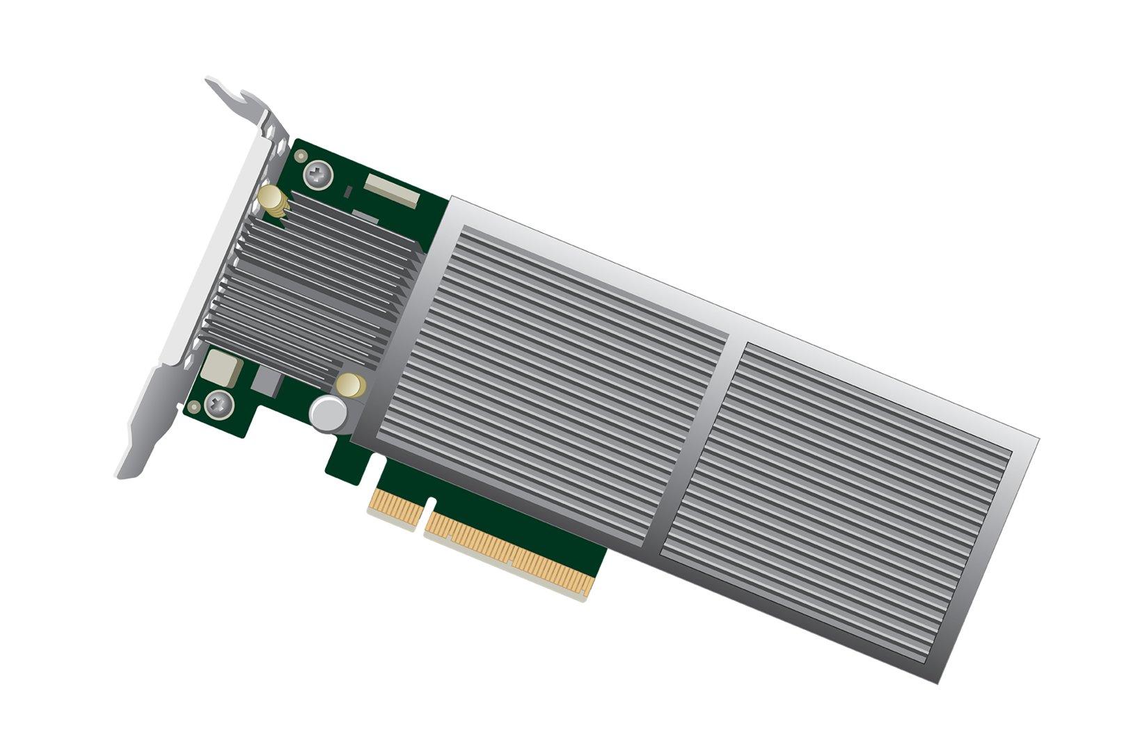 Rendering des Modells mit 6,7 GB/s (PCIe x8)
