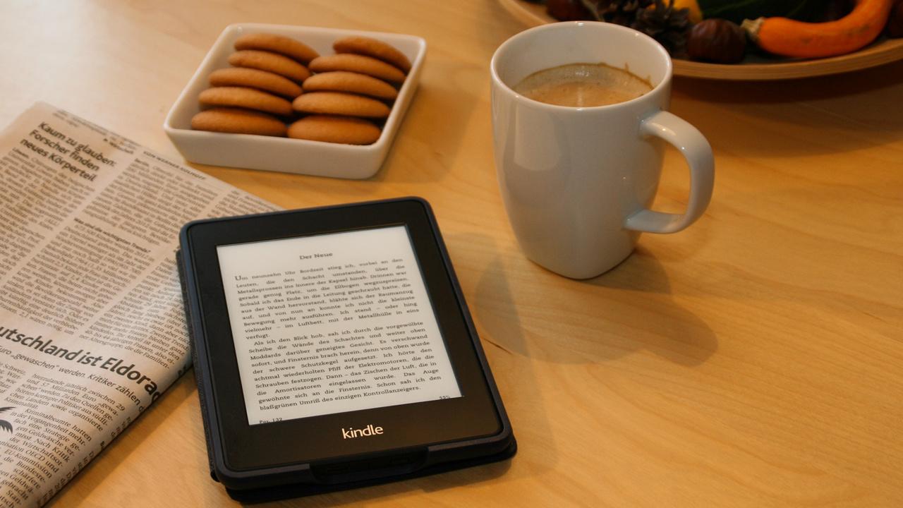 Amazon Kindle: E-Reader benötigt aktuelle Firmware bis 22. März 2016