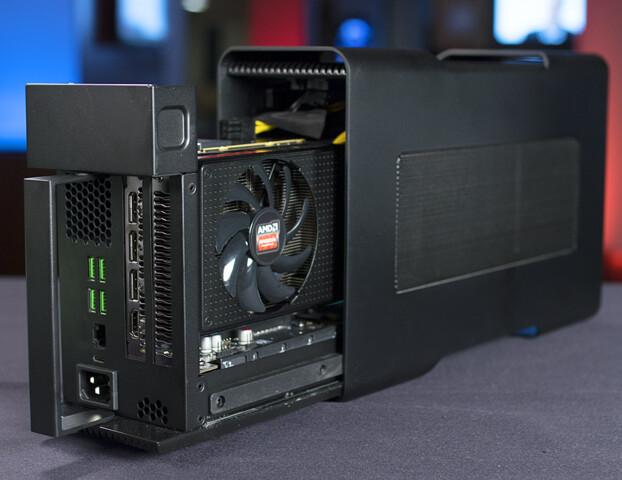 Radeon R9 Nano im Razer Core