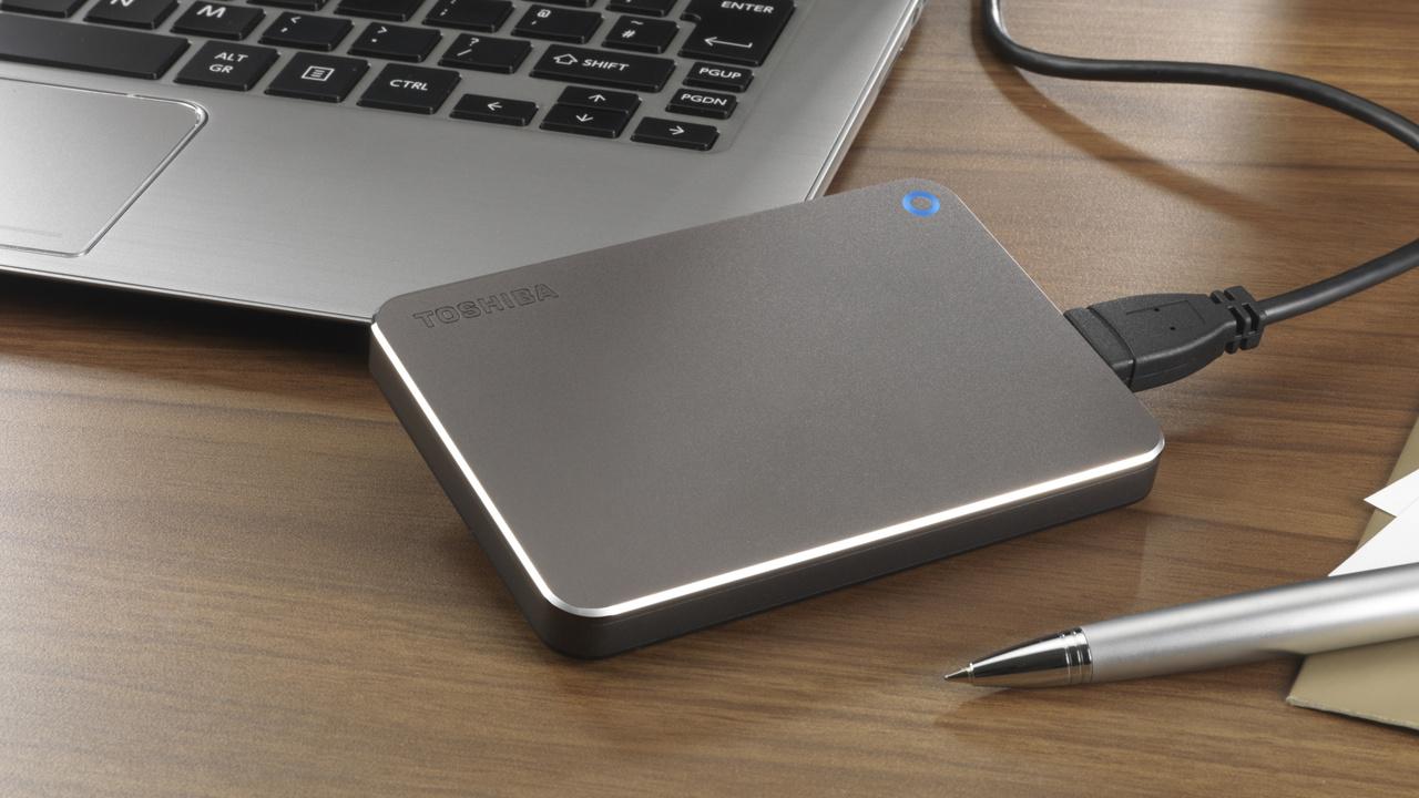 Externer Speicher: Toshiba nutzt USB Typ C für 2,5-Zoll-HDD und USB-Stick