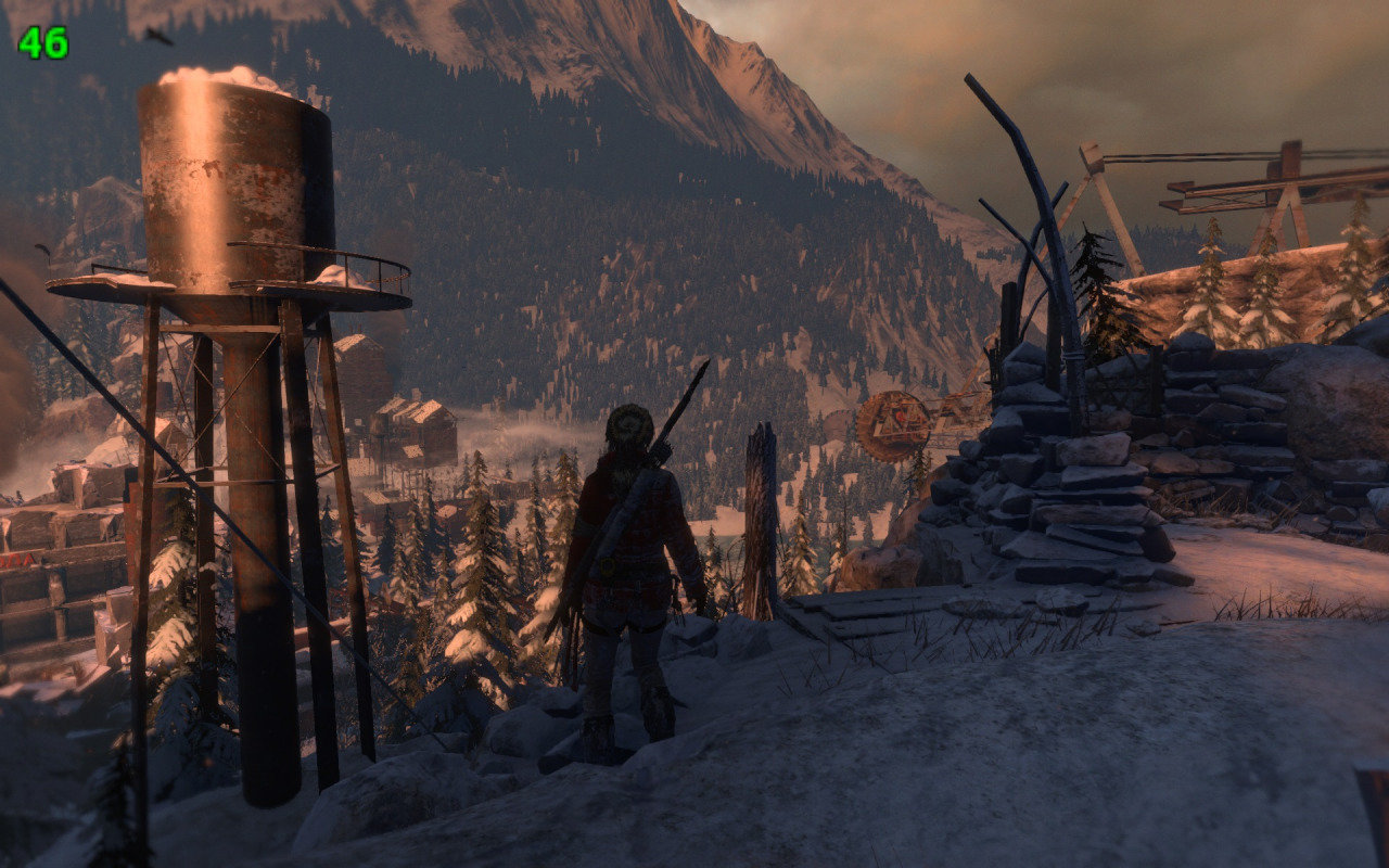 Tomb Raider mit DirectX 11 und 46 FPS