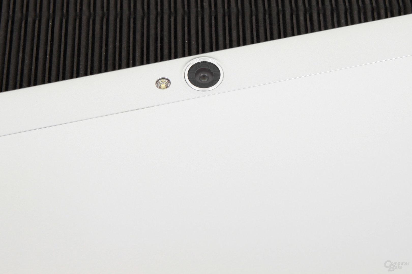Eine für ein Tablet sehr hoch auflösende Kamera