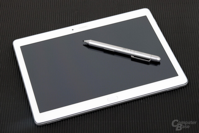 Huawei MediaPad M2 10.0 mit optionalen Pen