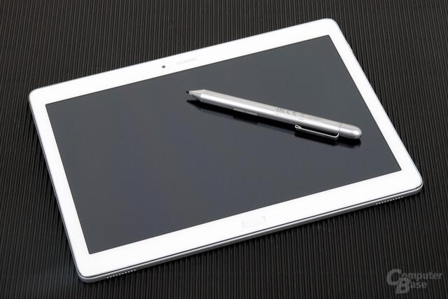 Huawei MediaPad M2 10.0 mit optionalen Pen