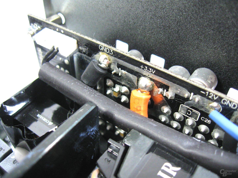 Corsair RM550x – Lötqualität