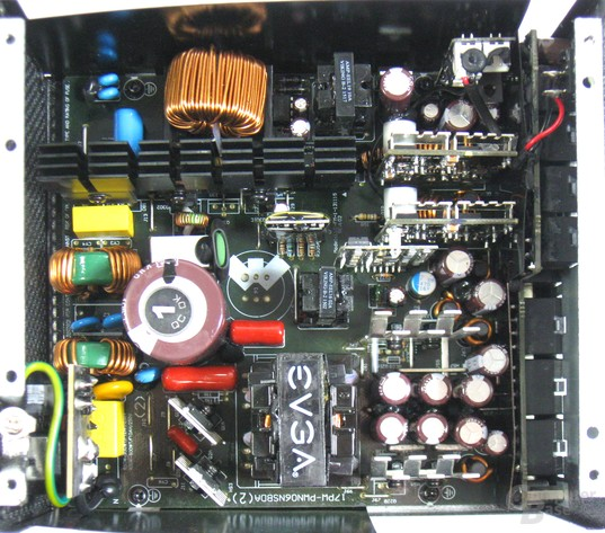 EVGA G2 550W – Technik