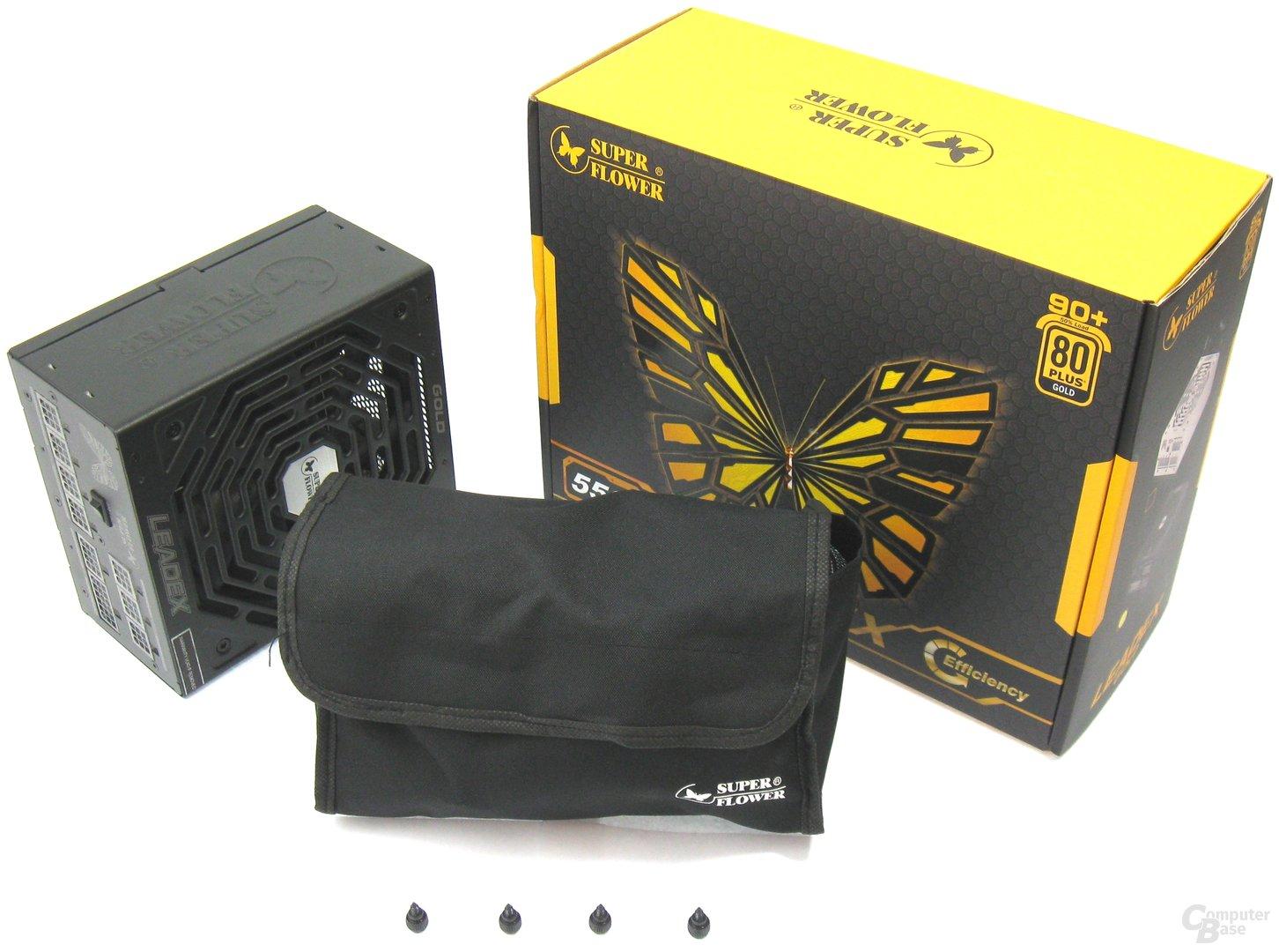 Super Flower Leadex Gold 550W