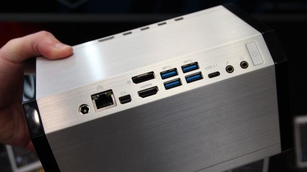 Mini-PC: Gigabyte Brix mit Skylake-CPU und GTX 950M im Würfel