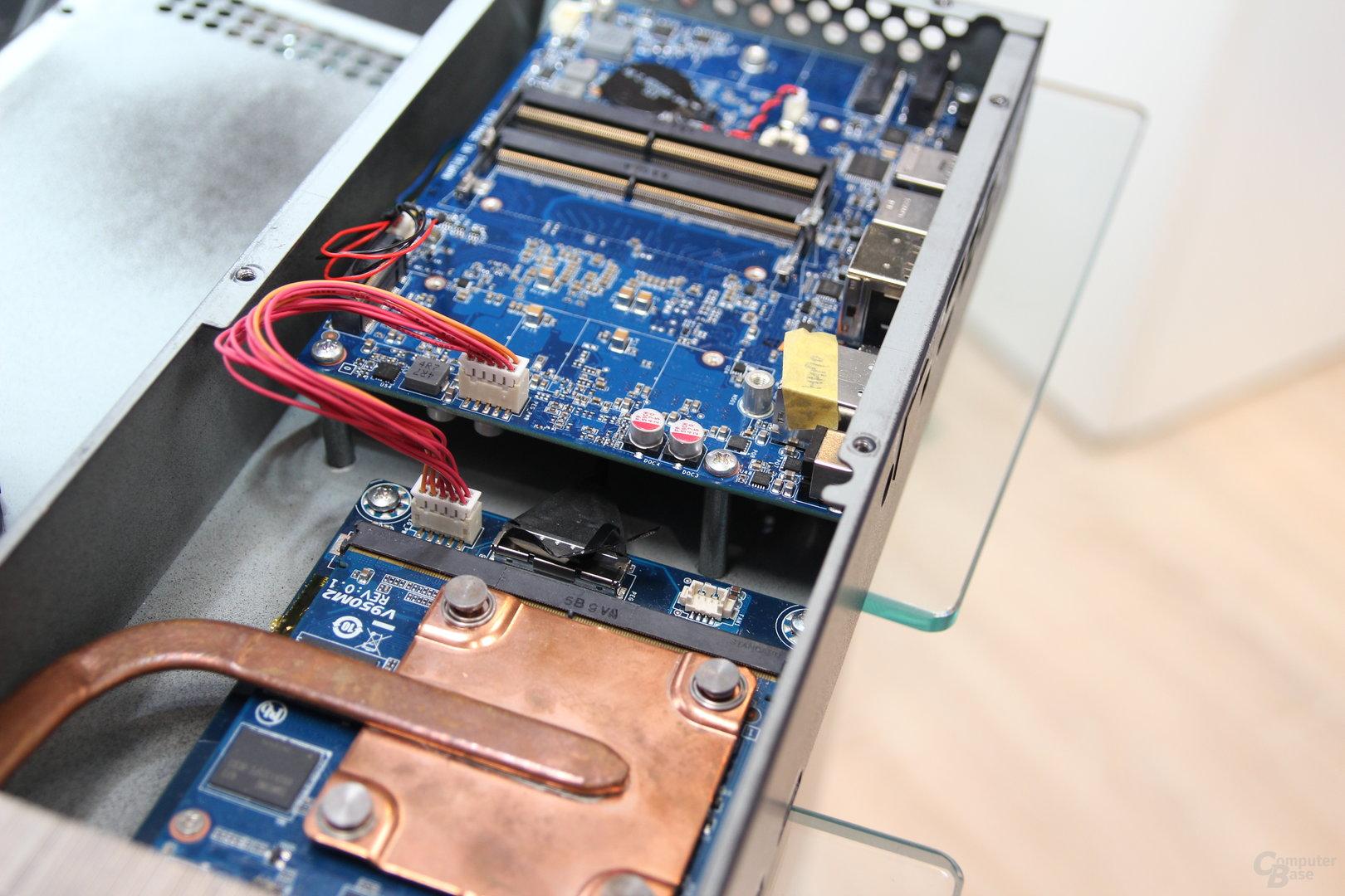 Gigabyte Brix mit Skylake-CPU und GTX 950M