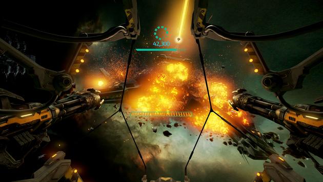 EVE Gunjack: Arcade-Shooter kommt auch für Oculus Rift und HTC Vive