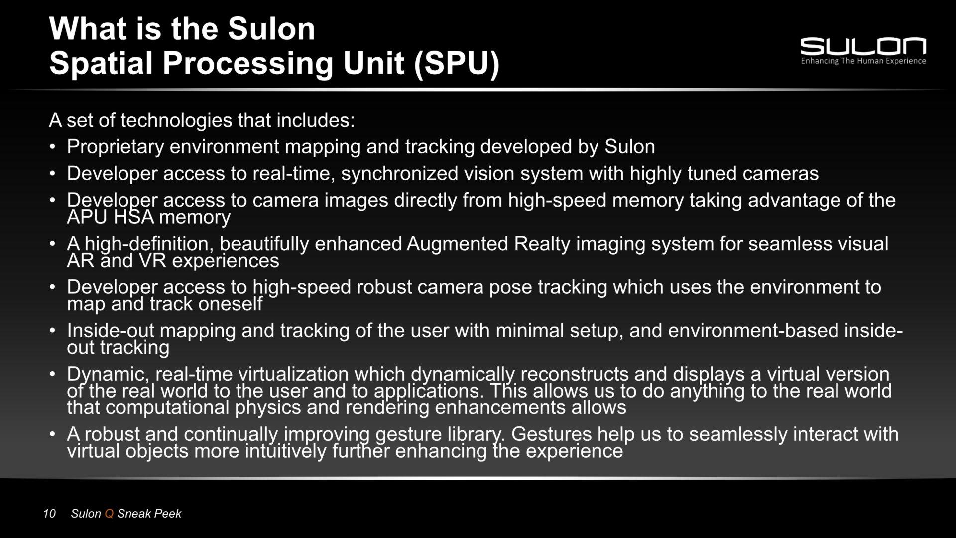Präsentation des Sulon Q