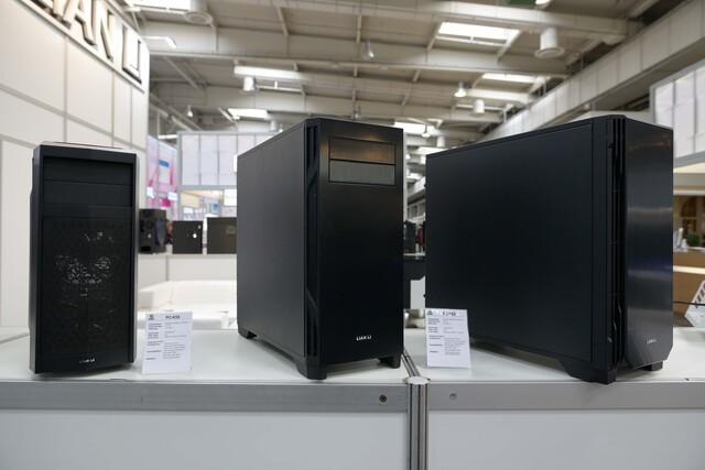 PC-K5X (links), PC-K6X in zwei verschiedenen Ausführungen (rechts)