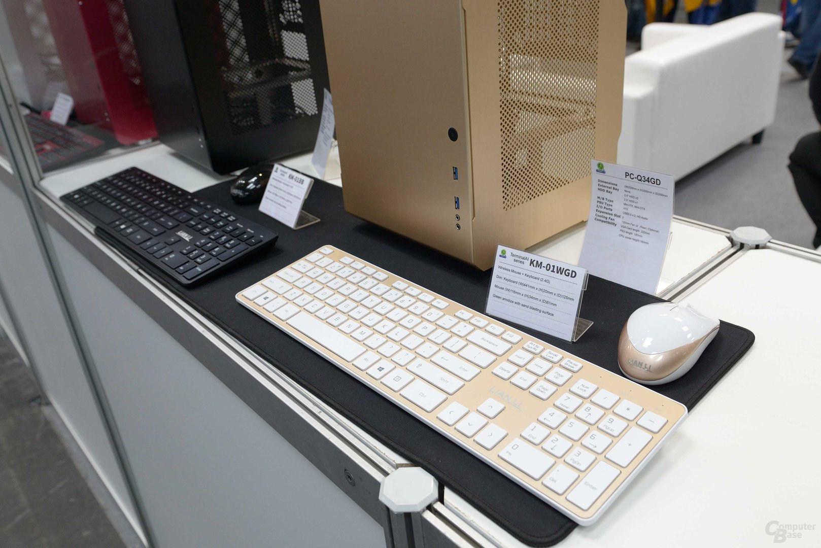 Tastatur und Maus von Lian Li