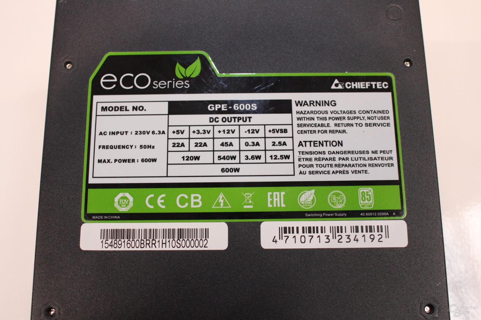 Chieftec Eco