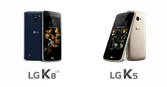 LG K8 & K5