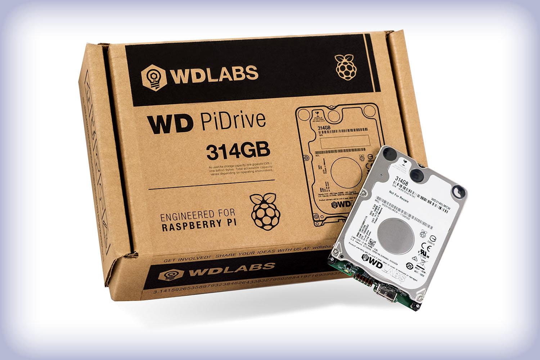 WD PiDrive 314 GB