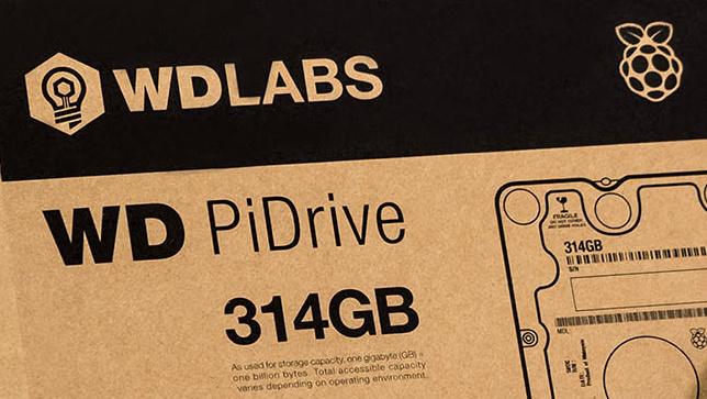 Western Digital: PiDrive mit 314 GByte für den Raspberry Pi