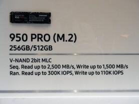Noch immer keine TB-Version der 950 Pro in Sicht
