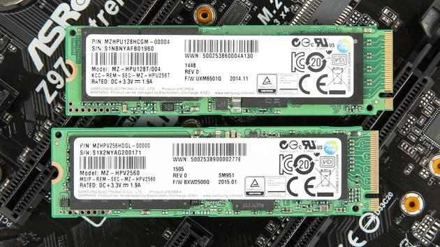Samsung SM961: M.2-SSD mit 3,2 GB/s, bis zu 1TB und Polaris-Controller