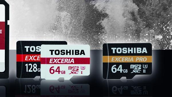 Exceria Pro M501: Toshibas microSD-Karten schreiben am schnellsten