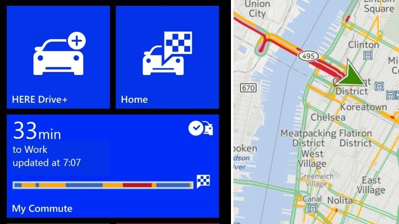 Navigation: HERE stellt Karten-Apps für Windows Phone & Mobile ein