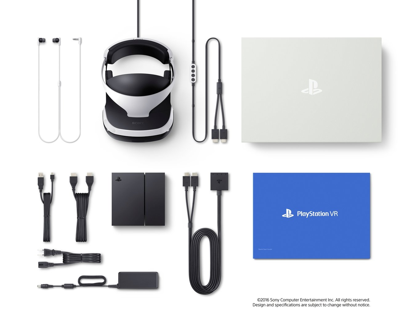 Sony PlayStation VR – Lieferumfang