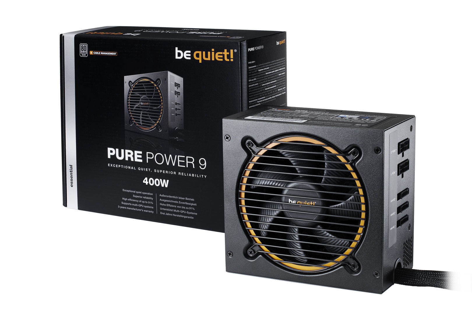 be quiet! Pure Power 9 400W CM