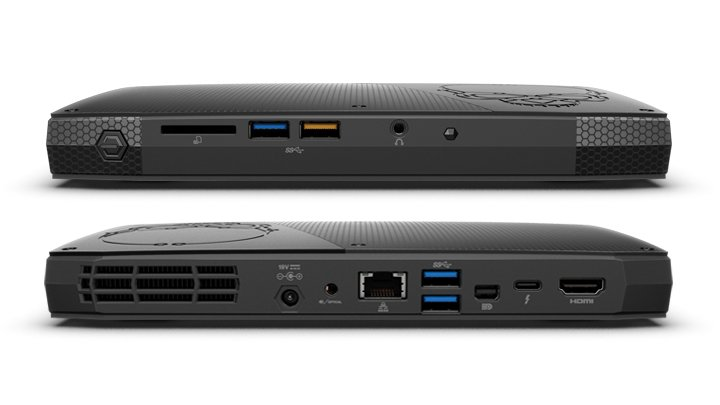 "Intel NUC Kit NUC6i7KYK ""Skull Canyon"""