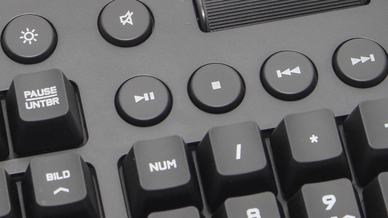Logitech G610 Orion Red & Brown: Mechanische Tastaturen mit Cherry MX statt Romer-G