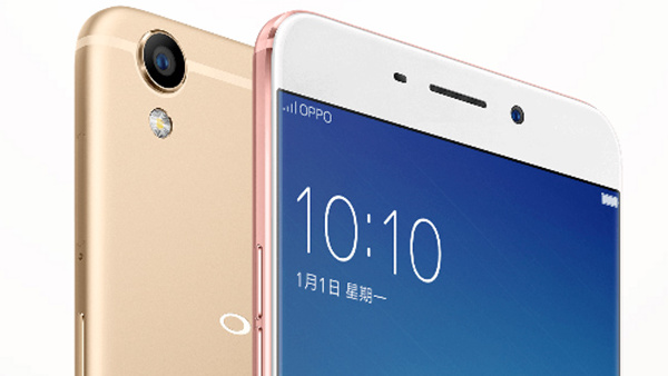 Oppo R9 (Plus): Metall-Unibody-Smartphone mit Fingerabdrucksensor