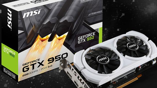 GeForce GTX 950: Auch MSI verzichtet auf Stromanschluss