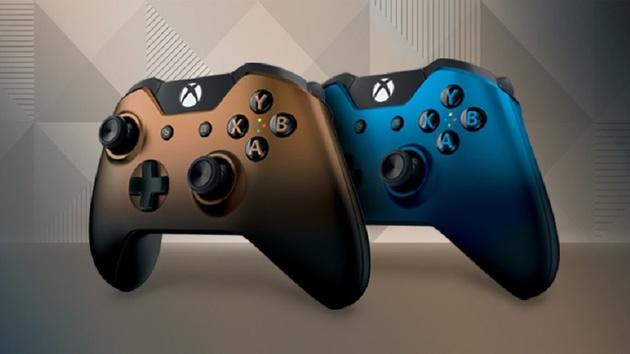 Xbox One: Neue Controller mit schattierter Farbgebung