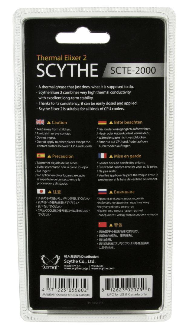 Scythe Thermal Elixer 2