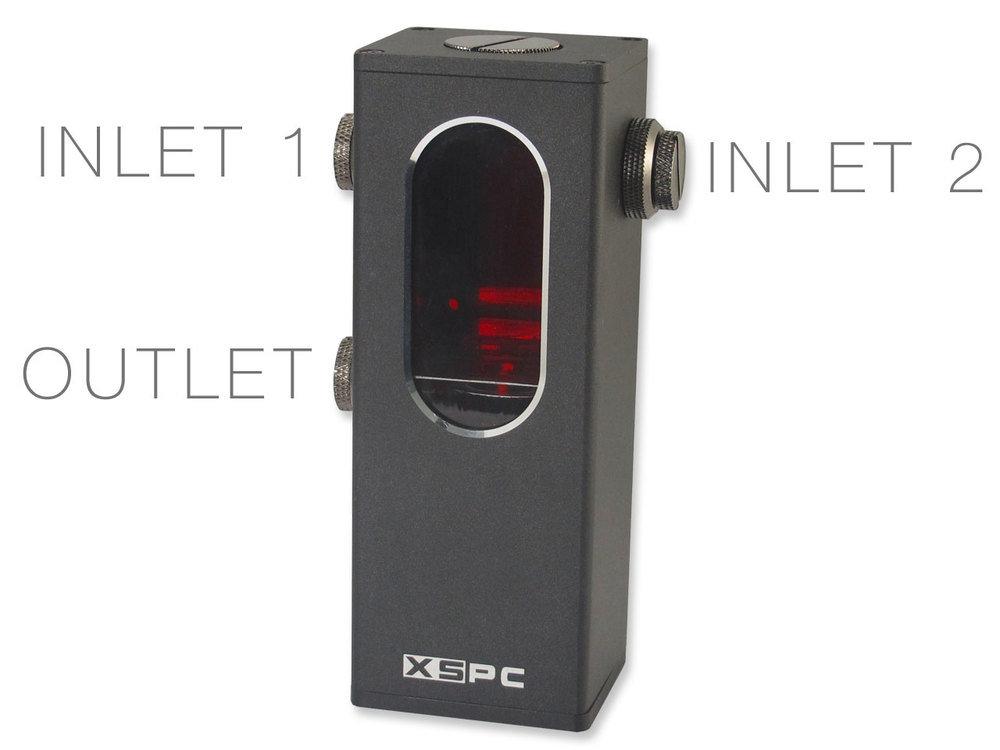 XSPC Ion Pumpen-Reservoir Kombination