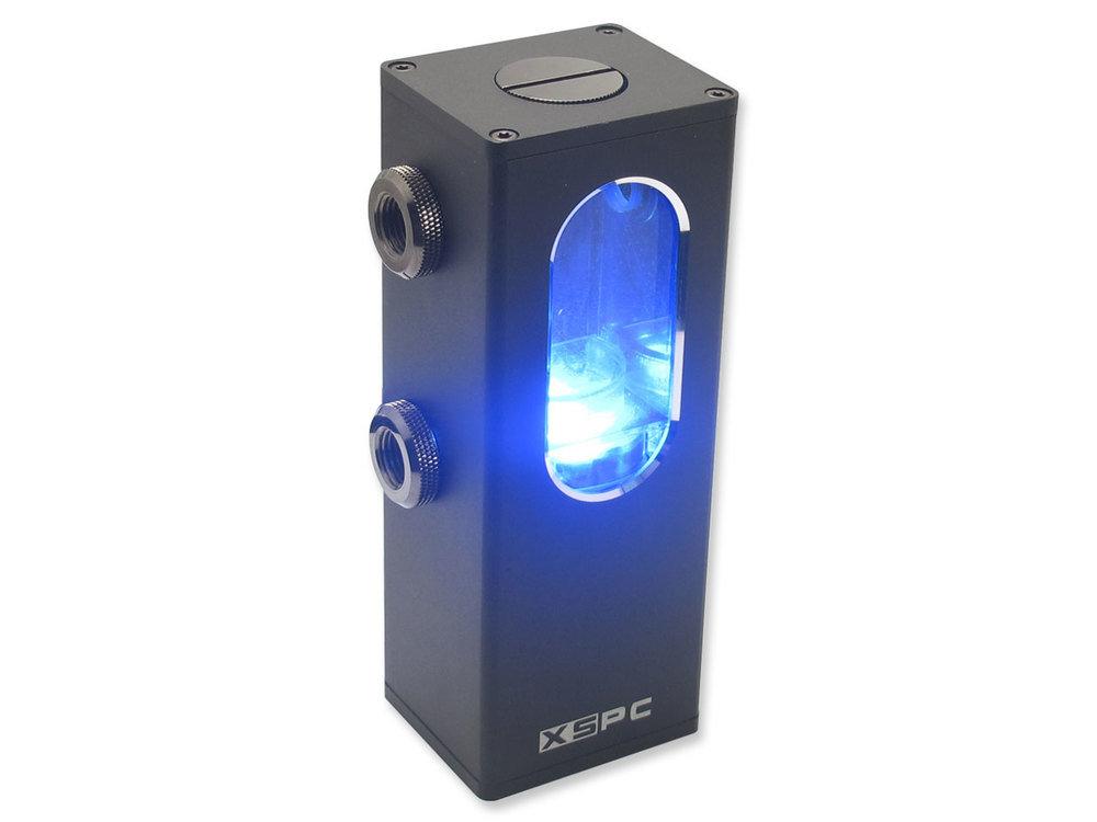 XSPC Ion Pumpen-Reservoir Kombination mit blauer Beleuchtung