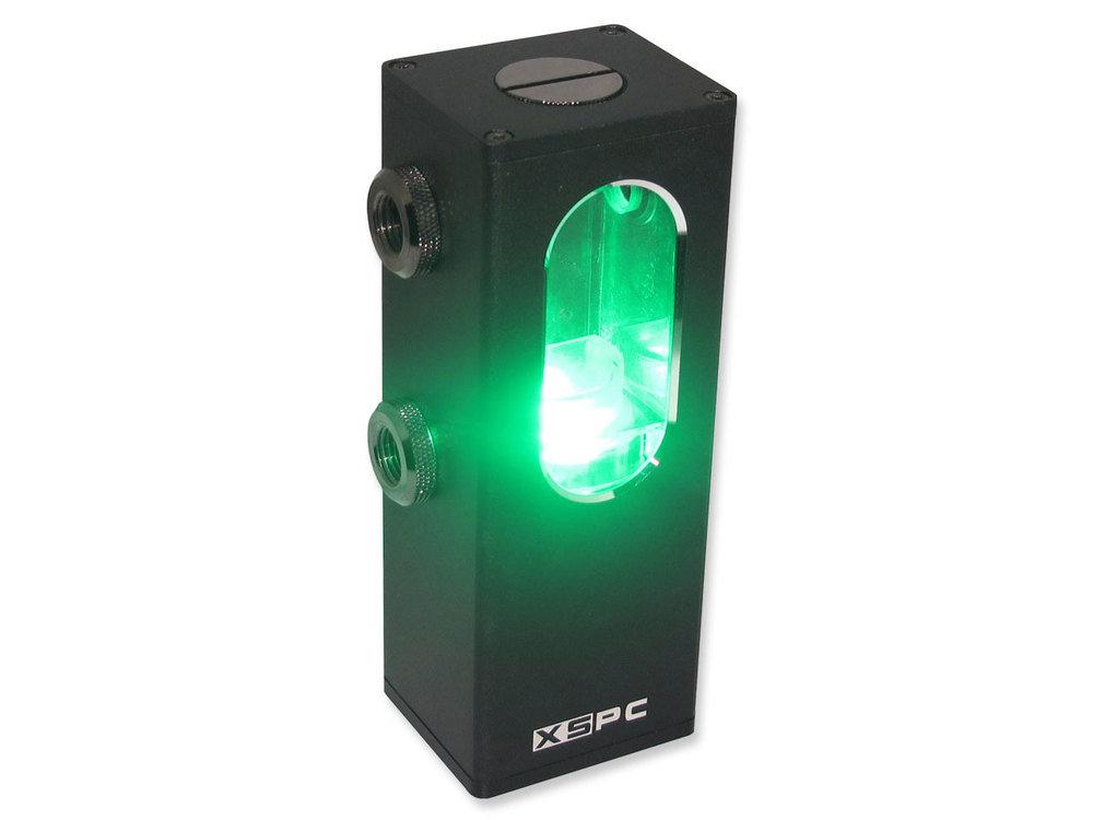 XSPC Ion Pumpen-Reservoir Kombination mit grüner Beleuchtung
