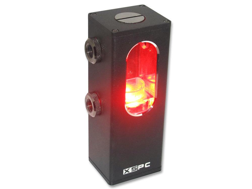 XSPC Ion Pumpen-Reservoir Kombination mit roter Beleuchtung
