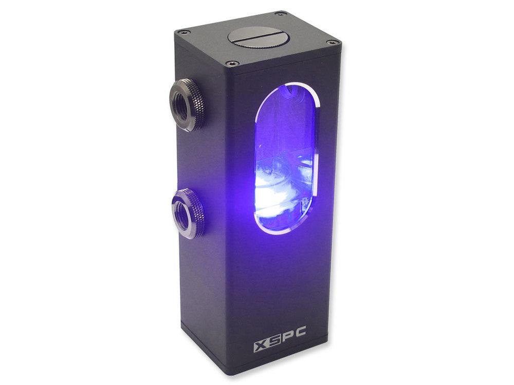 XSPC Ion Pumpen-Reservoir Kombination mit UV-Beleuchtung
