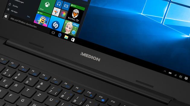 Medion Akoya S4220: Aldi-Notebook mit Full-HD-Display für ...