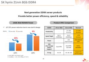 Vorteile von 21-nm-Chips gegenüber 25 nm
